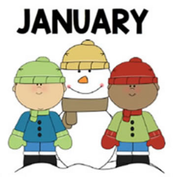 Welcome to January and a New Year